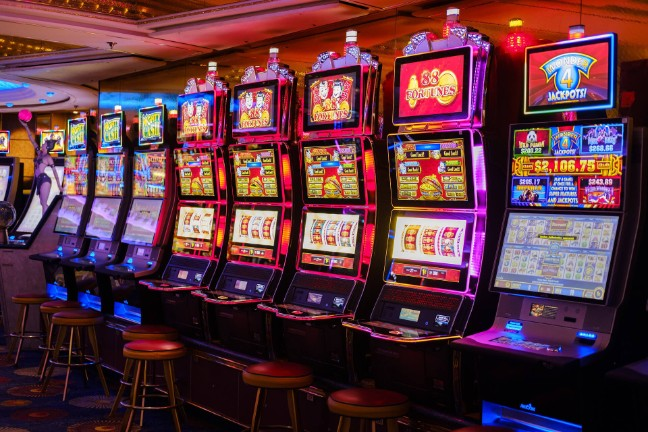 Bitcoin casino last year